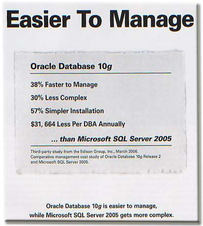Oracle Magazine ads May/June 2007