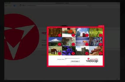 Vidoop grid image authentication