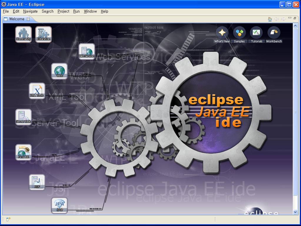 Eclipse workbench home