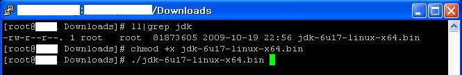 Java installation step 3: installing jdk