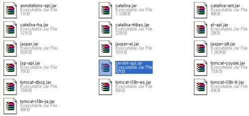 Servlet API jar file