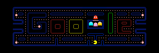 Pacman doodle initial picture