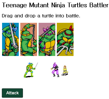 Teenage mutant ninja game from marc grabanski